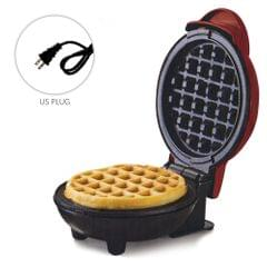 Mini Waffle Maker Breakfast Machine Non Stick Easy Clean - US PLUG