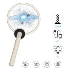 Foldable Bug Zapper Mosquito Killer USB Rechargeable