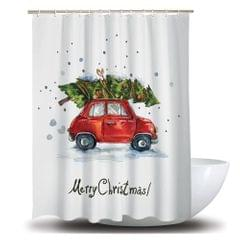 Shower Curtain Christmas Decoration Bath Curtains Waterproof