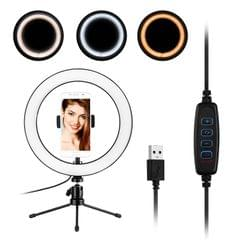 10inch LED Ring Light Photography Fill-in Lamp 3 Lighting