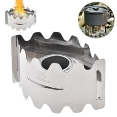 Portable Stove Wind-proof Stove Stainless Steel Stove - AT6391