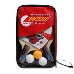 Rubber Ping Pong Paddle Set Table Tennis Racket Kit - Vertical