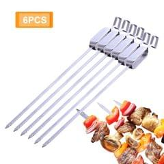 Barbecue Skewer Grilling Kabob Reusable Metal Skewers Heavy