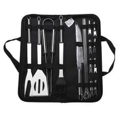 BBQ Grill Tools Set Heavy Duty Stainless Steel Barbecue - 18 pcs