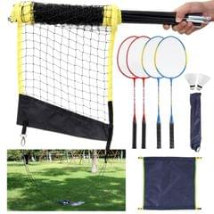 Sports Badminton Set Badminton Rackets, Birdies, Net,