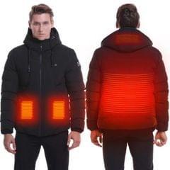 Heated Jackets Men Women Winter Warm USB Heated Down Jackets