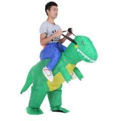 Decdeal Cute Adult Inflatable Dinosaur Costume Suit Air Fan
