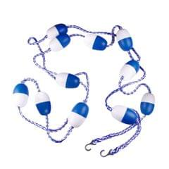 5m / 16.4 ft Pool Safety Float Lines Blue and White Divider