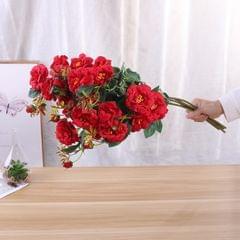 7 Pcs/Set Artificial Flowers Christmas Artificial Branches - 4