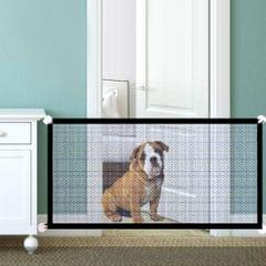 Dog Safety Gate Pet Safe Mesh Fence Portable Folding Baby - 110X72cm