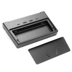 Multi USB Hub,Car Interior Center Console Accessories with 6