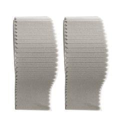 100PCS Non-woven Fabric Nasal Sponge Gray
