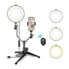 6 Inch/16cm Photography Ring Video Light Dimmable LED Fill