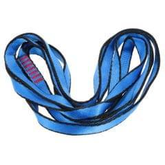 23KN 16mm 150cm/4.9ft Rope Runner Webbing Sling Flat Strap
