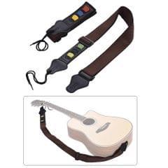 2pcs/ Pack Adjustable Guitar Shoulder Strap Microfiber +