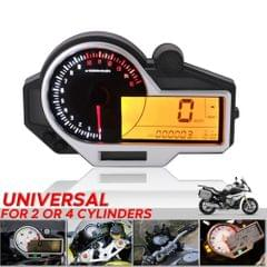 Motorcycle Odometer Speedometer Fuel Gauge 14000RPM