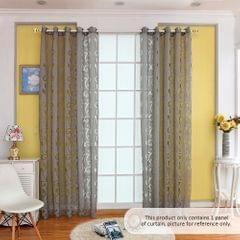 39 * 98 inches Polyester Semi-Blackout Grommet Top Window