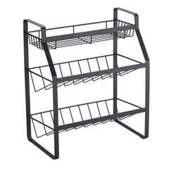 3 Tier Spice Rack Organizer Kitchen Countertop Storage Shelf