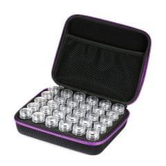 30-Bottles Diamond Painting Box Shockproof Drop-proof - Purple & 30-Bottles