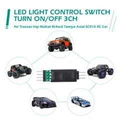 LED Lamp Light Control Switch Panel System Turn On/Off 3CH