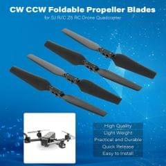 2 Pairs CW CCW Foldable Propeller Blades for SJ R/C Z5 Wifi