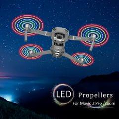 1 Pair LED Flash Low-Noise Quick Release Propeller