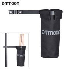 ammoon Drum Stick Holder Drumstick Bag 600D with Aluminum