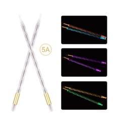 A Pair of 5A Drumsticks Nylon Drum Sticks Light Up