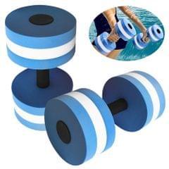 1 Pair EVA Foam Aquatic Exercise Dumbbells for Water