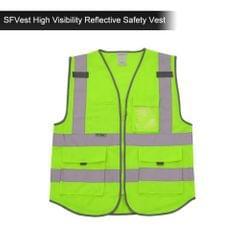 SFVest  High Visibility Reflective Safety Vest Reflective