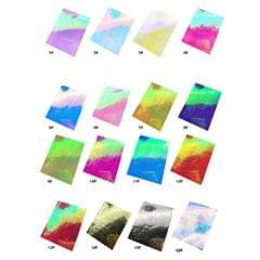16PCS Flame Reflections Nail Stickers Fire Flame Nail Art - 1