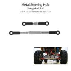 Steering Hub Linkage Pull Rod Metal for WPL C14 C24 B14 B24