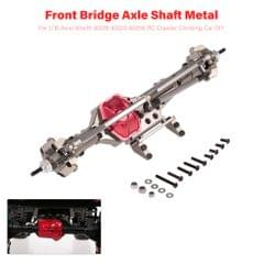 Front Bridge Axle Shaft Metal for 1/10 Axial Wraith 90018