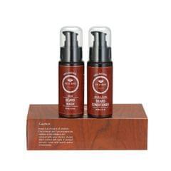 2 Pcs/set Beard Wash Shampoo & Beard Conditioner Softener