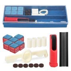 20-IN-1 Billiard Repair Kit Cue Tip Repair Tool Billiard
