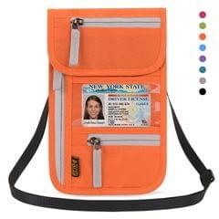 Airport Travel Neck Pouch Neck Wallet Stash Passport Holder