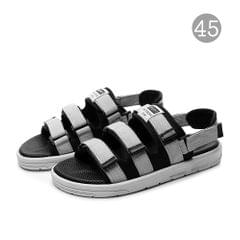 Anti-Slip Rubber Sandals Unisex Shoes with Open Toe Design - 45