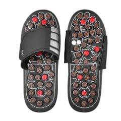 Acupressure Massage Slipper Foot Massager Jade Stone - L