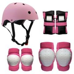 Protective Gear Set 7 in 1 Knee Elbow Pads Wrist Guards - L