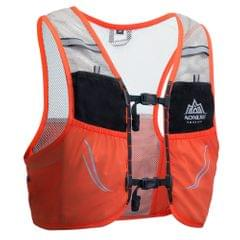 Outdoor Running Vest Mesh Breathable Hydration Rucksack Bag - L-XL
