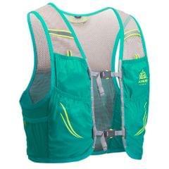 Outdoor Running Vest Mesh Breathable Hydration Rucksack Bag - M-L