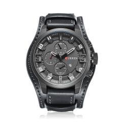 Curren Men Sport Quartz Watch Fashion Calendar Watches Big