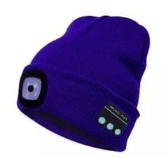 Unisex Kintted Hat Built-in 4Pcs Led Lights BT5.0 Knit Cap