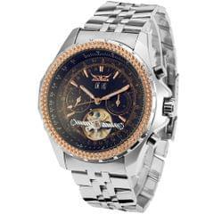 JARAGAR 070 Business Men Mechanical Watch Three Sub-Dial