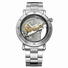 FORSINING Luxury Skeleton Automatic Mechanical Men Watch