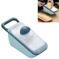 Kitchen Multifunctional Vegetable Cutter Household Grater Slicer (Light Blue)