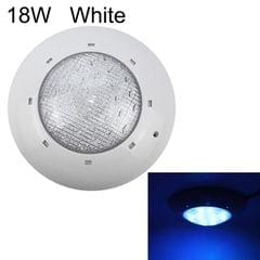 18W ABS Plastic Swimming Pool Wall Lamp Underwater Light (White)