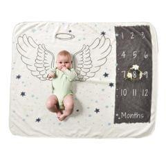 100x72cm Newborn Photography Blanket (Wing)
