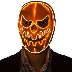 Halloween Mask LED Light Pumpkin Mask Horror