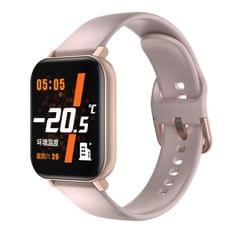 F25 1.4 inch TFT Color Screen Smart Watch IP67 Waterproof,Support Temperature Monitoring/Heart Rate Monitoring/Blood Pressure Monitoring/Sleep Monitoring (Pink)